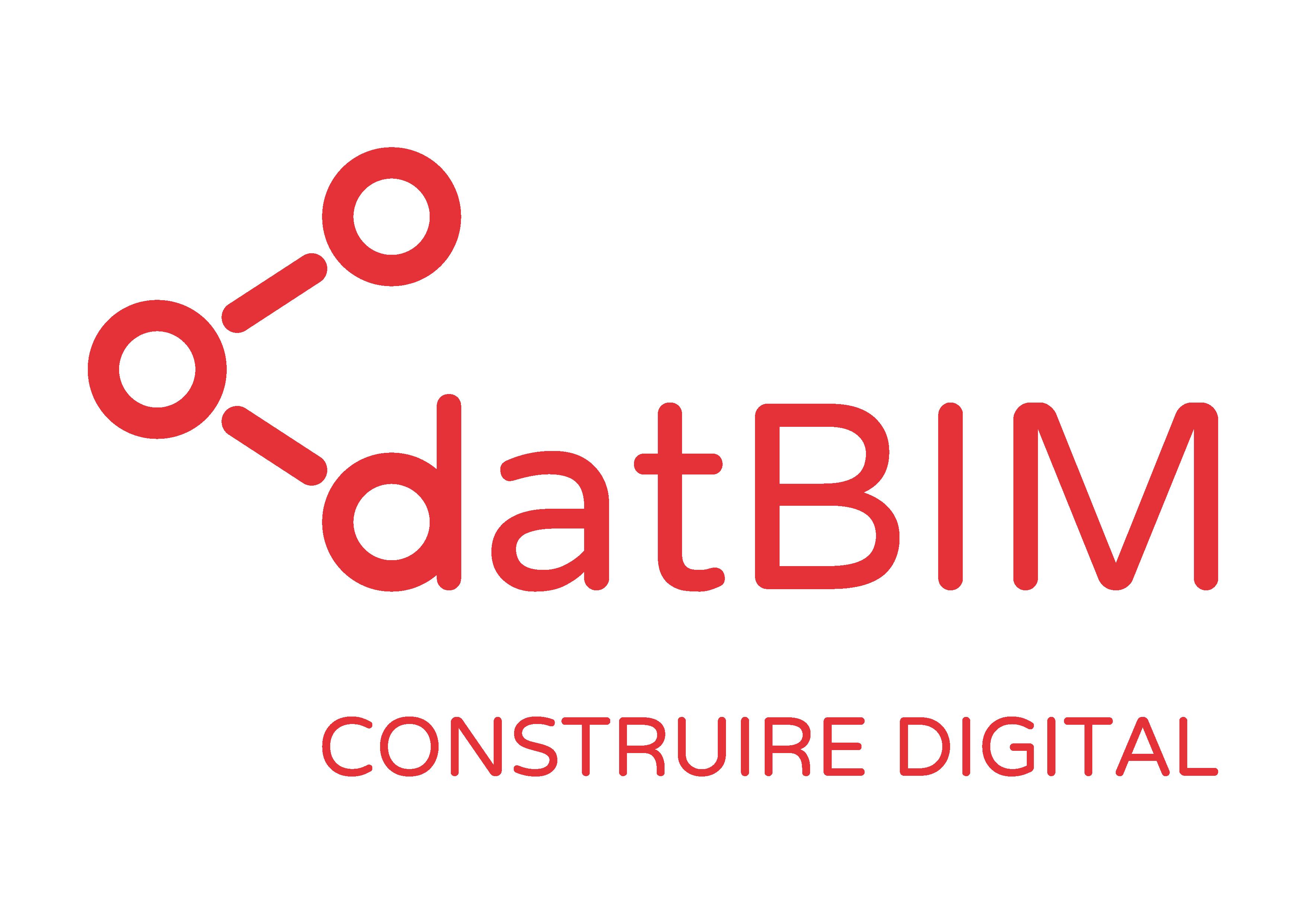 logo datBIM construire digital transparent
