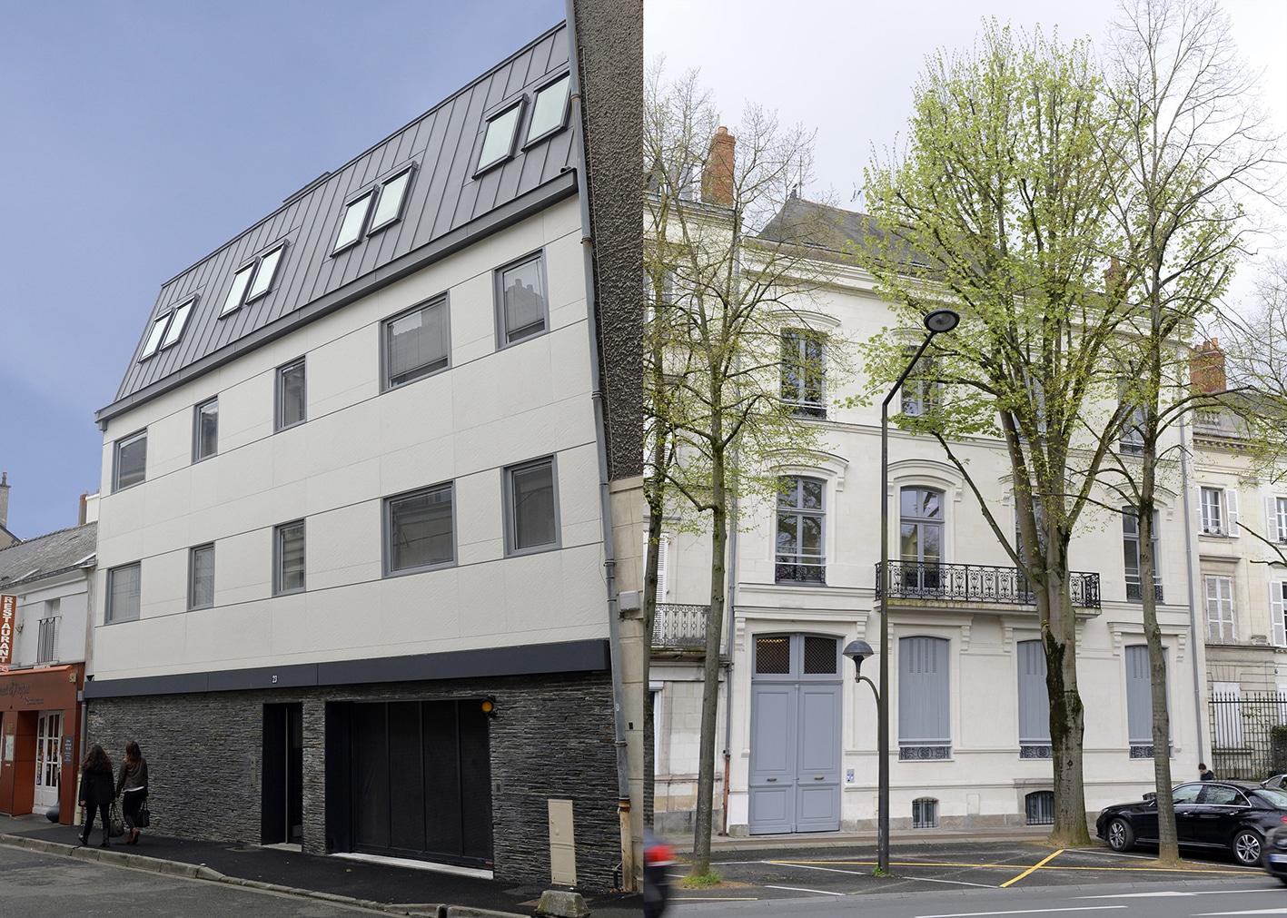 Architecture, reportage, résidence étudiante, SMEBA, Angers