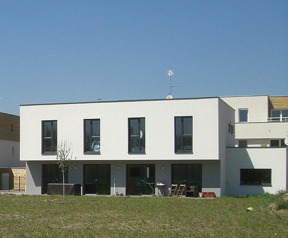 Maison positive contemporaine les architecteurs for Construire une maison a energie positive