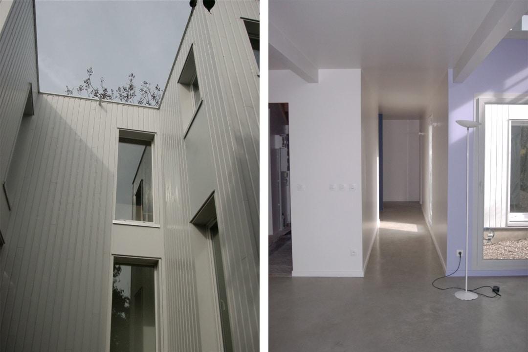 maison a ossature bois pour une demarche hqe les. Black Bedroom Furniture Sets. Home Design Ideas
