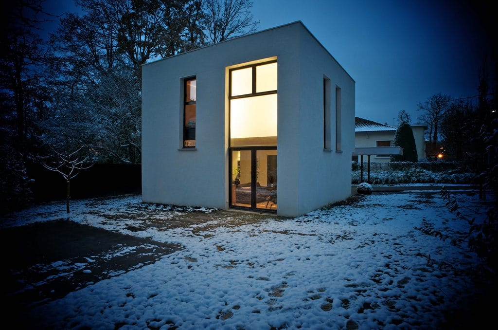 Maison Stanek - La Celle Saint Cloud - Christophe Potet Architecte 29/11/2010